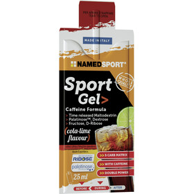 NAMEDSPORT Sport Energy Sachet de gel 15x25ml, Cola Lime